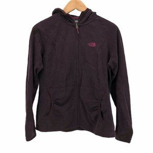 The North Face Womens Hoodie Purple Size L